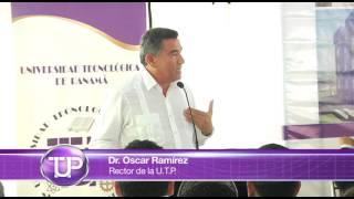 Discurso del Rector de la UTP durante el Acto de Proceder  la construcción de edificios y una calle