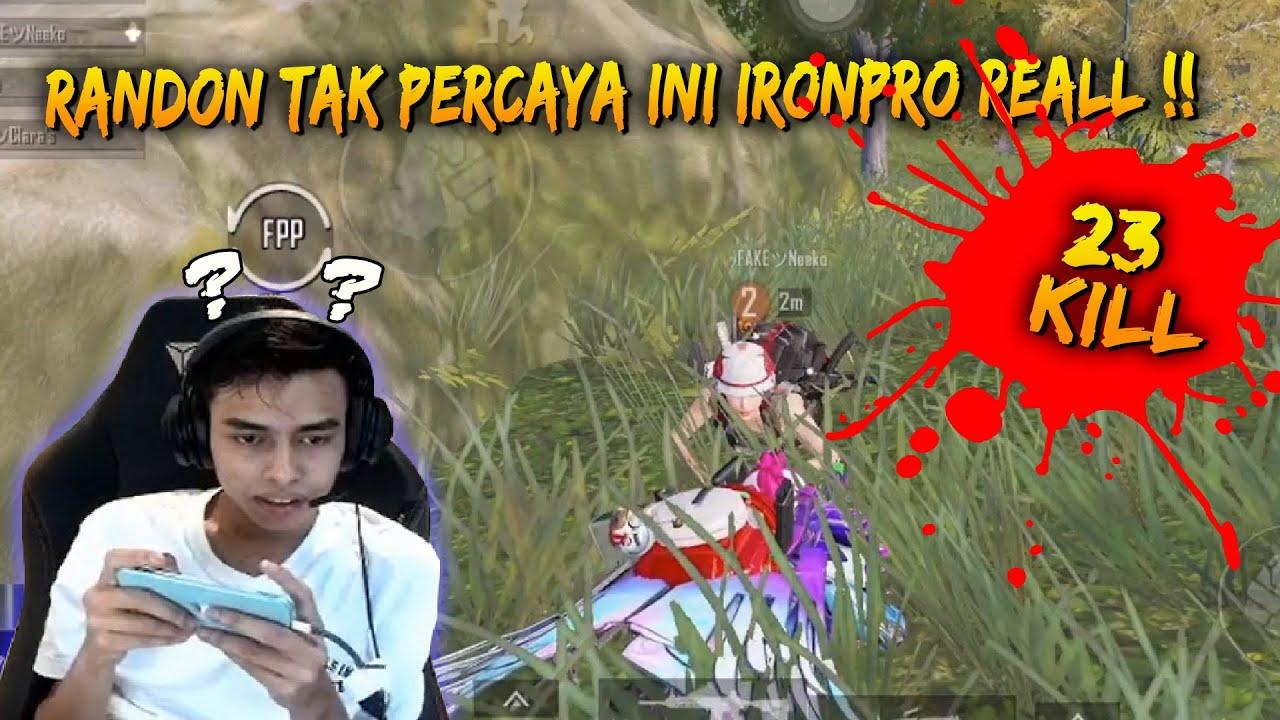 Random Sampai Tak Percaya Ini Real IronPro !! IronPro Tunjuk Skill | PUBG Mobile Malaysia