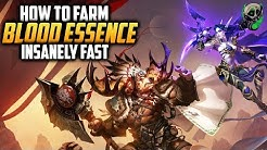 How to farm Blood Essence Fast - World of Warcraft - Battle for Azeroth 8.2