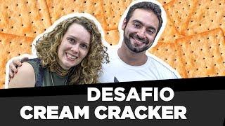 Desafio dos biscoitos Cream Cracker! | Camisa CorbucciEats? Especial 100k?