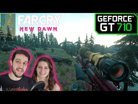 GT 710 | Far Cry New Dawn - 4K, 1080p, 720p, 360p |
