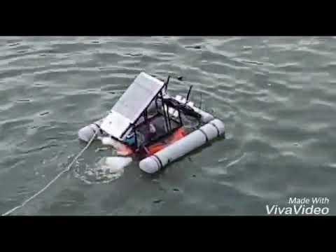 Floating Lake Cleaner [Solar Powered]