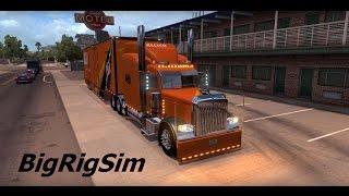American Truck Simulator/Peterbilt 389 (Allied Van Lines)