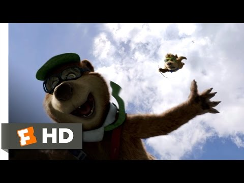 Yogi Bear (9/10) Movie CLIP - Flying Bears (2010) HD