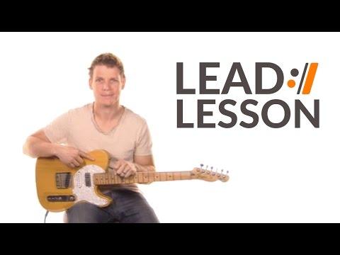 This is Amazing Grace - Phil Wickham // Lead Guitar Tutorial
