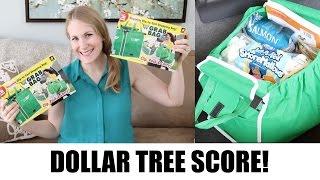 $1 Grocery Organization   DOLLAR TREE GRAB BAGS & GIVEAWAY!