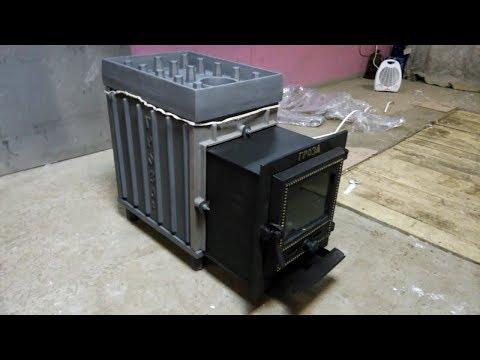 Банная печь Гроза 24М от завода Технолит