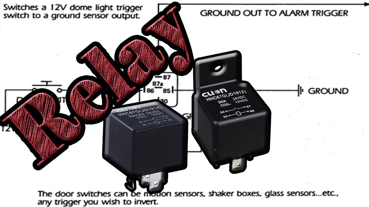 Diagram Auto Relay Wiring As Oscillator And Charger