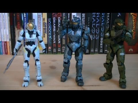 Halo Universe Series 2 Halo Legends: The Package Review