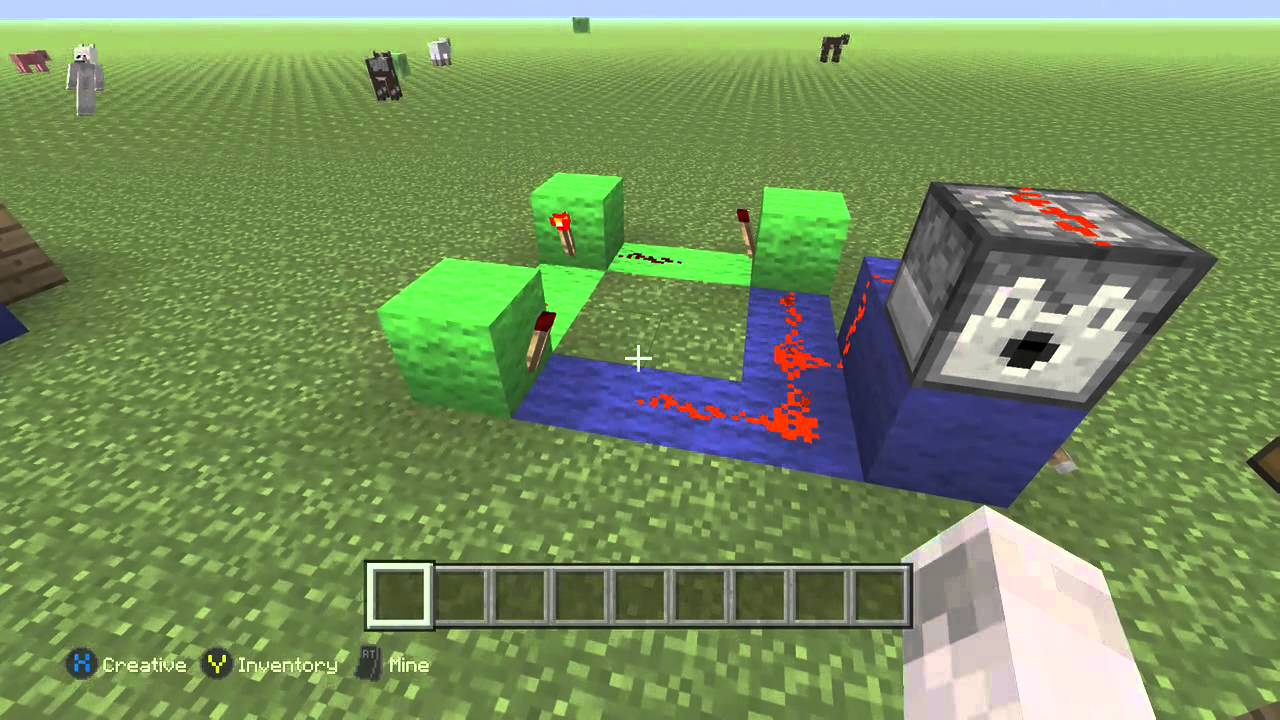 Minecraft Simple Clock Circuit Youtube Circuits Images