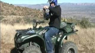 Quad & ATV 4-Wheeler Driving Basics : How to Start a Quad & 4-Wheeler for Riding
