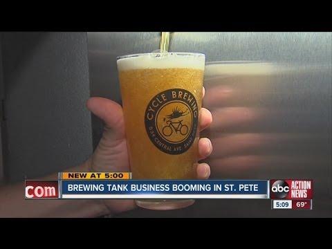 St. Petersburg business booms with craft beer craze