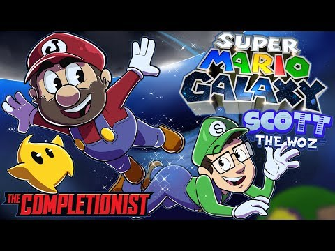 Super Mario Galaxy | The Completionist | New Game Plus (ft. @Scott The Woz)
