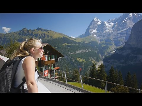 INCREDIBLE SWISS ALPS HIKE (with drone video)! – Travel Switzerland vlog 184