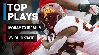 Top Plays: Mohamed Ibrahim Highlights vs. Ohio State Buckeyes | Minnesota | Big Ten Football