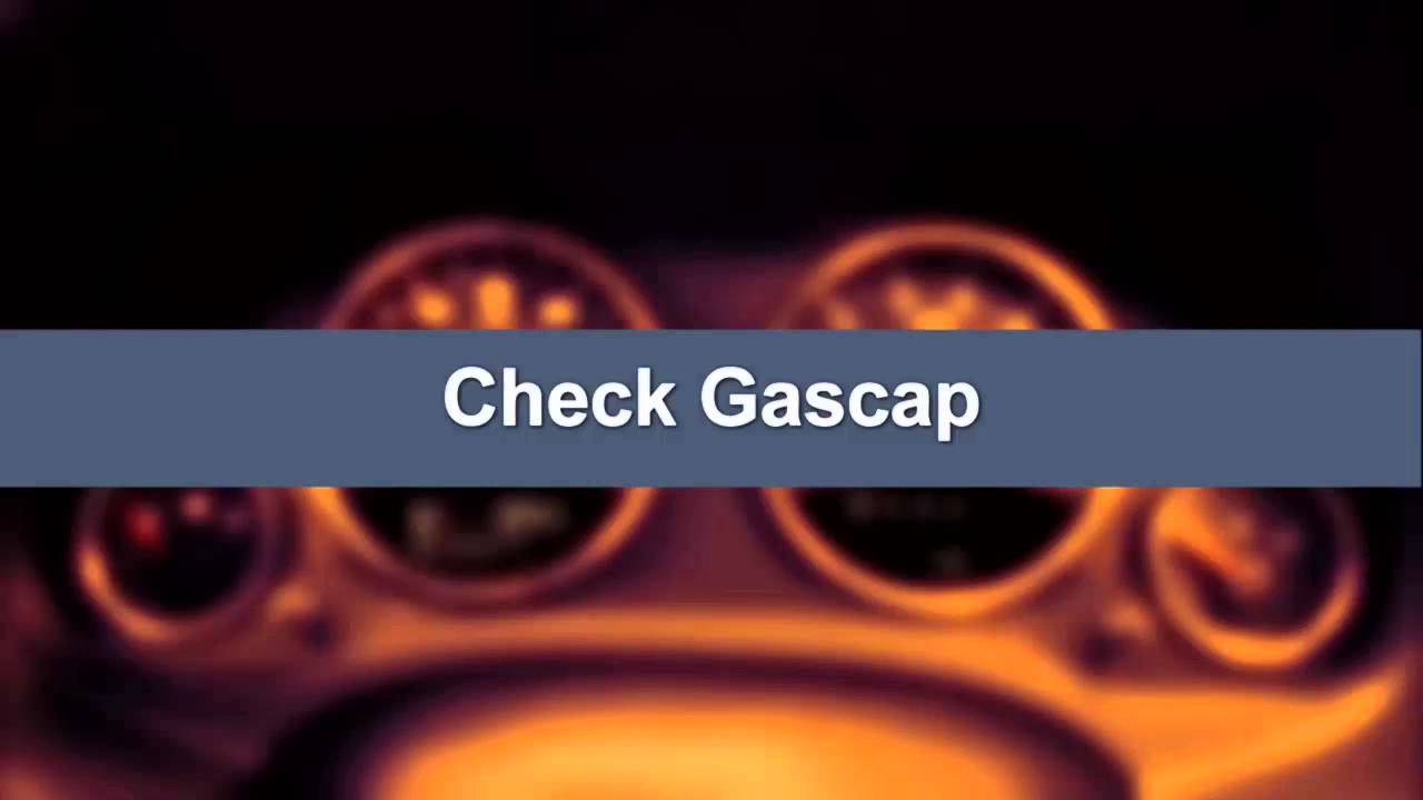 2016 Jeep Patriot | Gas Cap Message