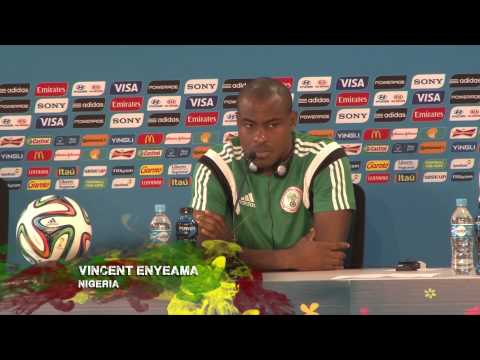 """Vincent Enyeama: """"Nicht nur Lionel Messi!""""   Nigeria - Argentinien   WM 2014 Brasilien"""