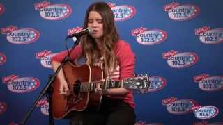 Maren Morris performs in Studio 102.5!