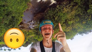 UPSIDE DOWN ZIP LINING IN HAWAII!