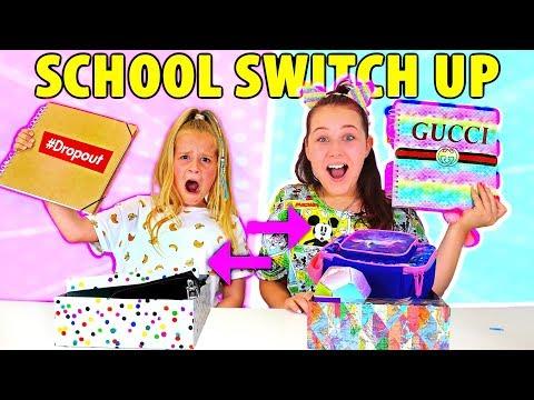 SCHOOL SUPPLIES SWITCH UP!! Back To School w/ Ruby Rube & Amelia