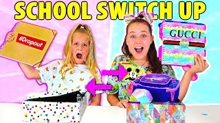 SCHOOL SUPPLIES SWITCH UP!! Back To School w/ Ruby Rube & Amelia