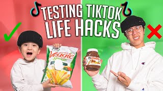 Trying VIRAL TikTok Life Hacks! **They ACTUALLY Work!!**