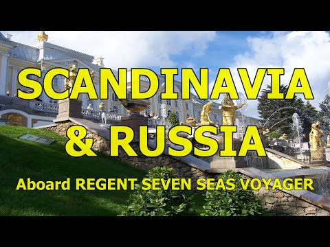 Seven Seas Voyager, Scandinavia & Russia Cruise, July 2007