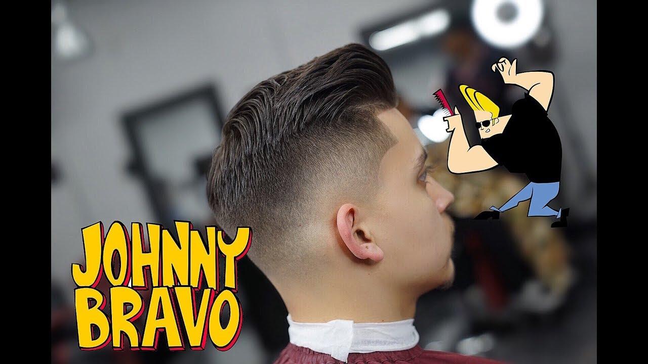 johnny bravo haircut tutorial