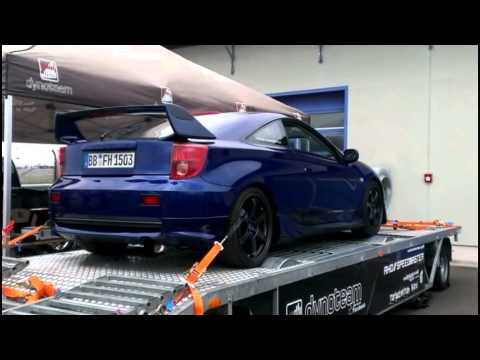 leistungspr fstand toyota celica t23 youtube. Black Bedroom Furniture Sets. Home Design Ideas