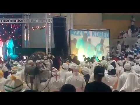 Don Jazzy, Korede Bello Performs At Cherubim & Seraphim