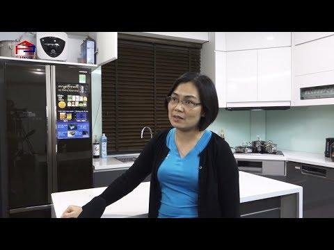 Chị Lan – Imperia Sky Garden phản hồi về tủ bếp acrylic no line và dịch vụ của Nội thất Hpro