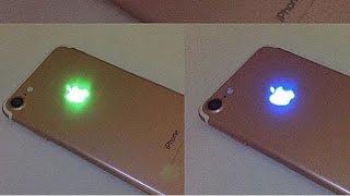 شرح كيفية إضاءة شعار آبل في الايفون 6