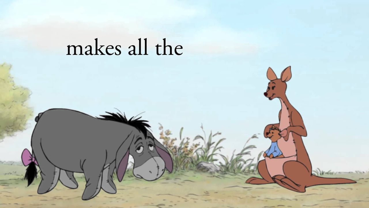 Deep Wallpaper Quotes A Thotful Spot From Eeyore Youtube