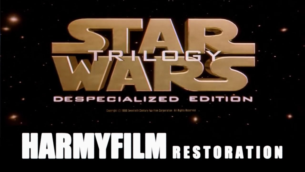 FAN EDIT REVIEW: The Star Wars Trilogy – Harmy's
