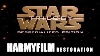Harmy's Star Wars: Despecialized Edition - History & Sources Documentary (extended version)