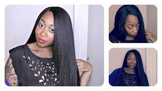 Kinky Straight Hairstyle Under $25  ft GirlRatesWorld