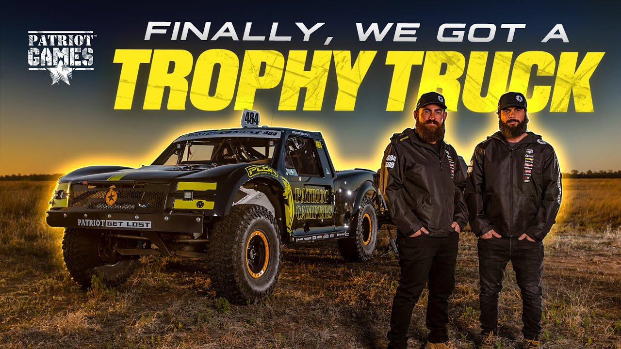 Introducing the Patriot Campers Aussie Spec Trophy Truck