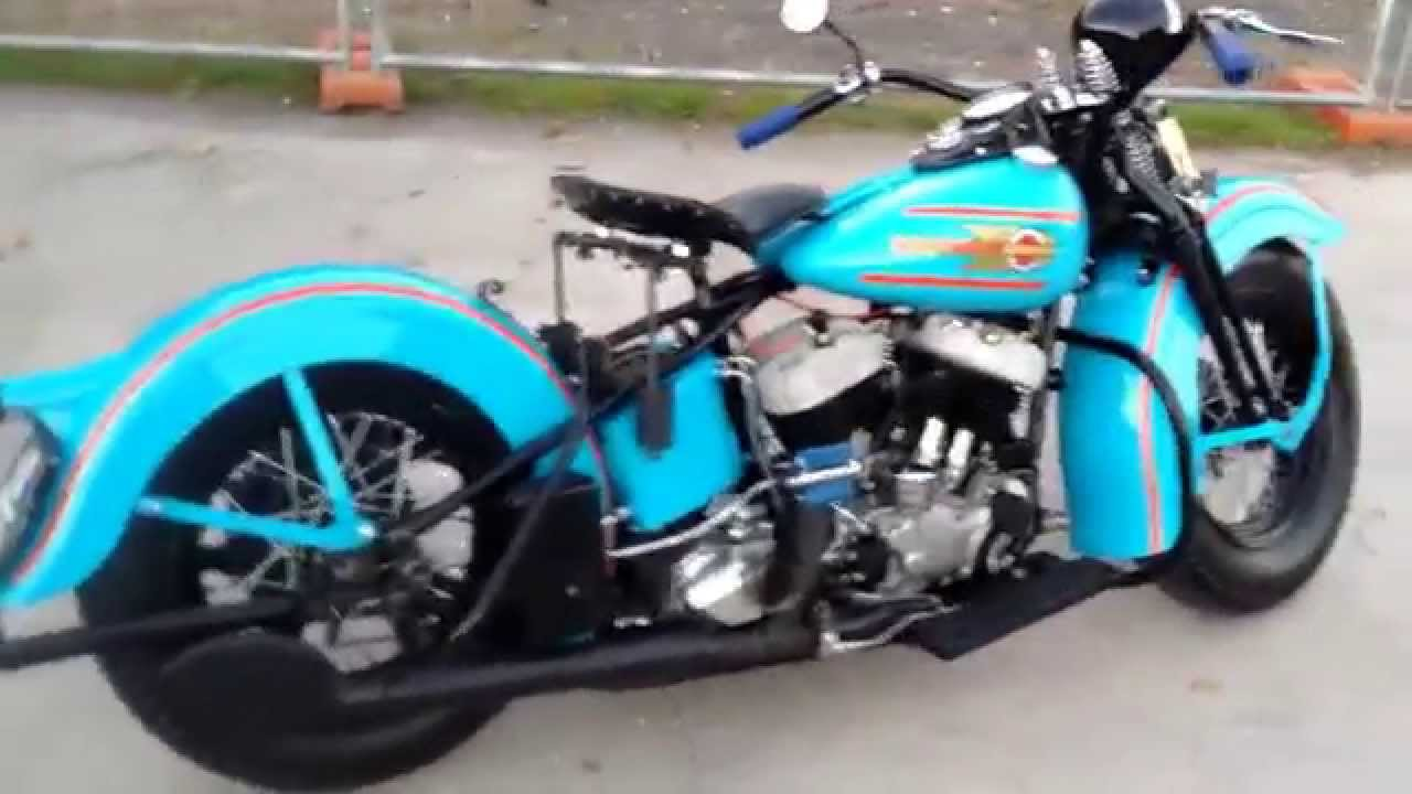 harley davidson flathead 74 cu in 1937 youtube. Black Bedroom Furniture Sets. Home Design Ideas