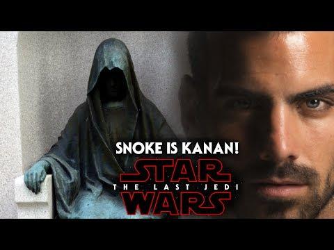 Star Wars The Last Jedi - Snoke Is Kanan Jarrus & More!