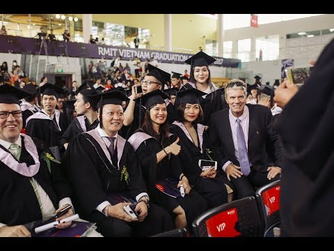 RMIT Vietnam Graduation Ceremony 2017 - Session 3 (SGS campus)