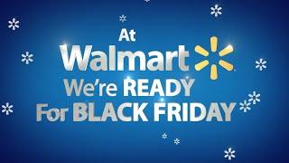 Walmart Black Friday Excitement