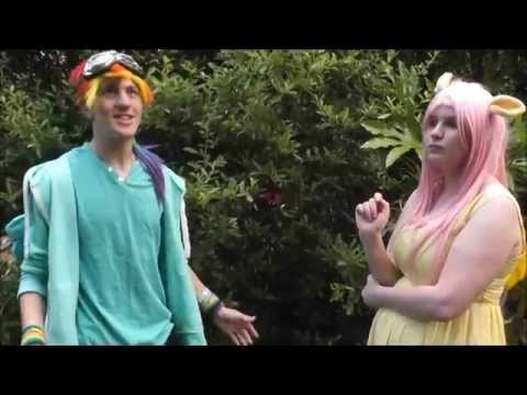 MLP (my little pony) cosplay  pet song