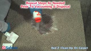 Safetec Red Z® - Carpet Clean-Up