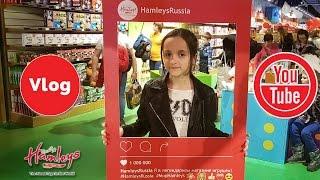 VLOG Открытие магазина Hamleys обзор от Анны