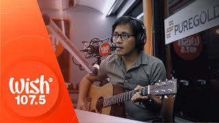 "Ebe Dancel performs ""Wag Ka Nang Umiyak"" LIVE on Wish 107.5 Bus"