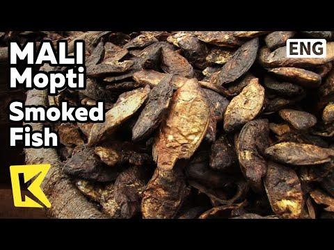 【K】Mali Travel-Mopti[말리 여행-몹티]도시 명물 훈제 생선과 암염/Mopti/Smoked Fish/River/Rock Salt