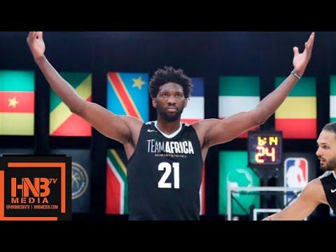 Team World vs Team Africa Full Game Highlights   August 4, 2018 NBA Africa Game