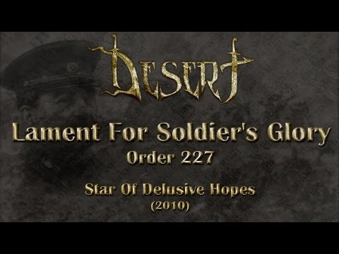 Desert - Lament For Soldier's Glory (Order 227) (Lyrics English & Deutsch)