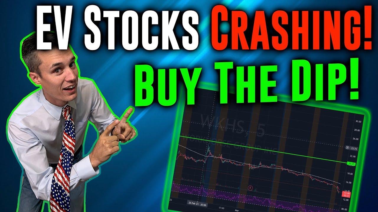 EV stocks crashing! Buy The dip on the top EV stocks!