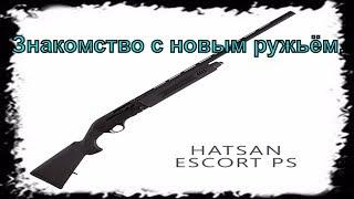 Знакомство с новым ружьём. Hatsan Escort PS 12х76.